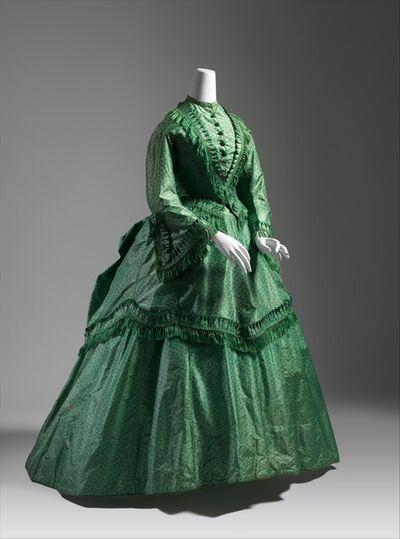 Unknown British, 'Dress', ca. 1870