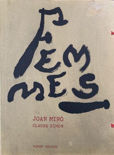 Joan Miró, 'Femmes', 1965