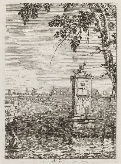 Canaletto, 'The Little Monument [left]', ca. 1735/1746
