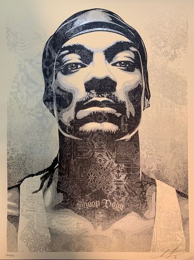 Shepard Fairey (OBEY), 'Shepard Fairey Print Snoop Dogg D-O Double G Obey Giant Rapper SilkScreen ', 2020