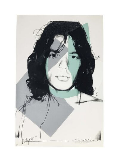 Andy Warhol, 'Mick Jagger: one plate', 1975