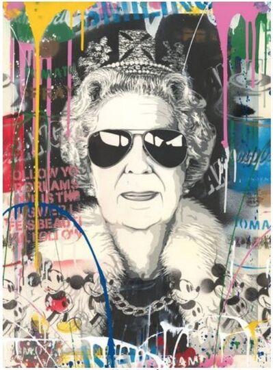 Mr. Brainwash, 'Queen Aviator', 2019