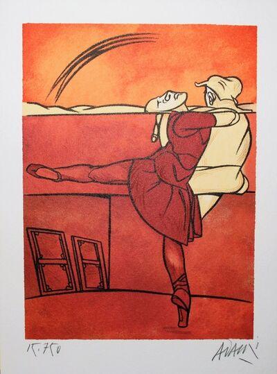 Valerio Adami, 'Ballet', ca. 1990