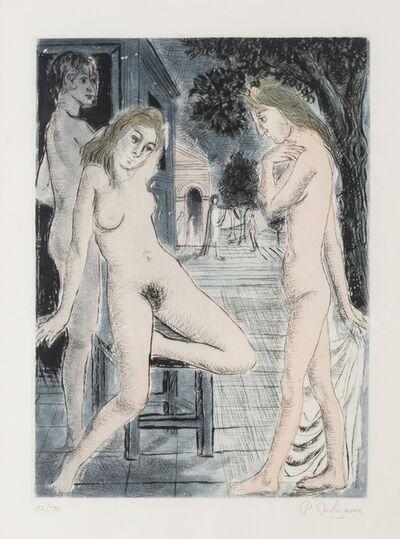 Paul Delvaux, 'Sept Dialogues avec Paul Delvaux (Jacob 76-80)', 1971