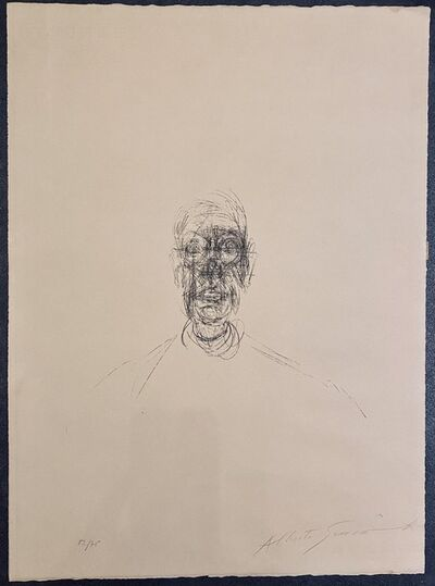 Alberto Giacometti, 'TETE D'HOMME III', 1964