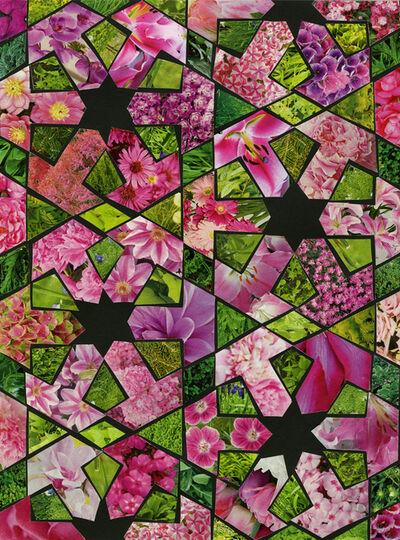 Margaret Lanzetta, 'Magenta Green', 2015