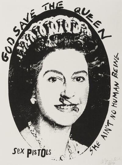 Jamie Reid, 'God Save the Queen', 1997