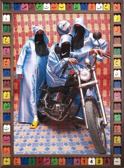 Hassan Hajjaj, 'Nikee Rider', 2007