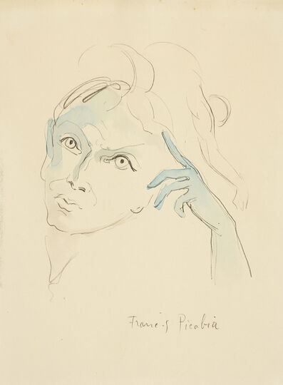 Francis Picabia, 'Jeune Espagnole', 1926