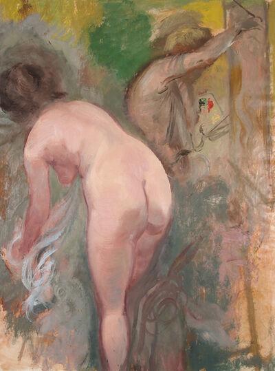George Grosz, 'Maler und Modell', 1939
