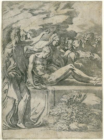 Francesco Mazzola, called Parmigianino, 'The Entombment of Christ', 1527