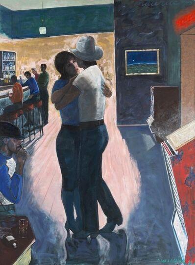Maurice Burns, 'Moonlight on the Plain (A Little Romance)'