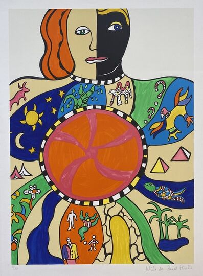 Niki de Saint Phalle, 'Le Couple', 1990