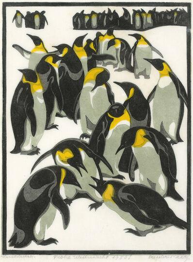 Norbertine Bresslern-Roth, 'Emperor Penguins', 1926
