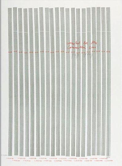 Joseph Beuys, 'Countdown 2000', 1981