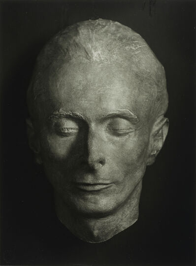 August Sander, 'Death Mask of Erich Sander', 1944