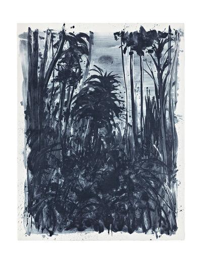 Shinro Ohtake, 'Indigo Forest 9', 2015
