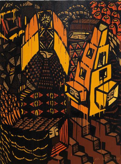 Eko Nugroho, 'Garden Full of Blooming Democracy #5', 2017