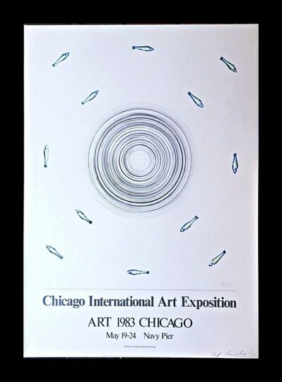 Ed Ruscha, 'Chicago International Art Exposition (Hand Signed)', 1983