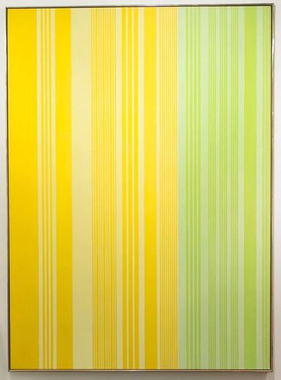Gene Davis, 'Lime-Lemon', 1970