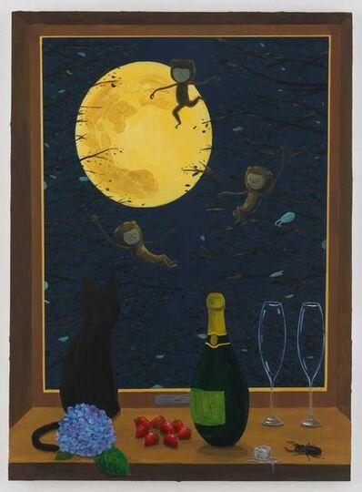 Atsushi Kaga, 'A joyful moon', 2019