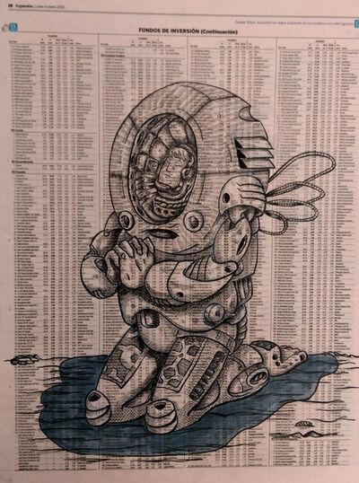 DEADBEATHERO, 'Spaceman kneeling', 2016
