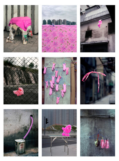 Michael Wolf, '#20, Hong Kong pink, MFT group', 2014