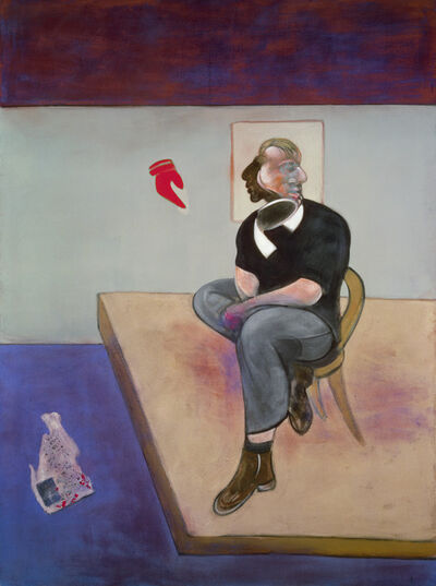 Francis Bacon, 'Study for Self-Portrait', 1981