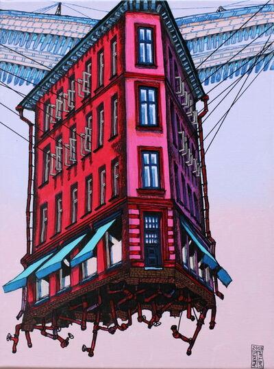 Alexei Svetlov, 'Flygende Rød hus', 2019