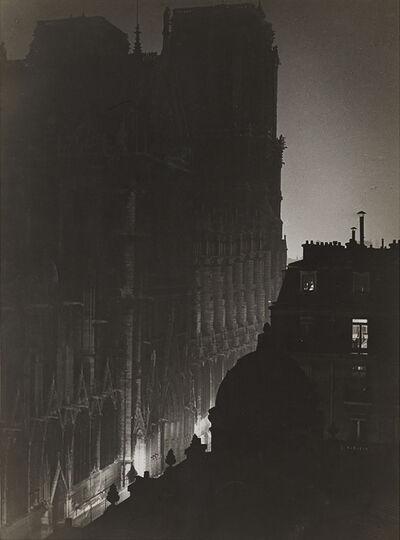 Brassaï, 'Le parvis de Notre-Dame (The square at Notre-Dame)', 1932