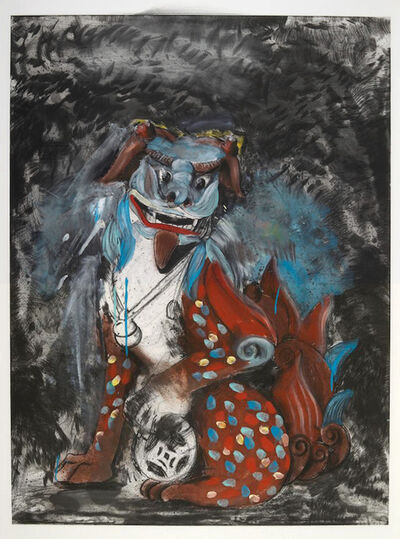 Jim Dine, 'Fo Dog in Hell', 1990