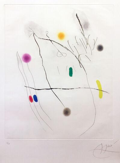 Joan Miró, 'Grave Sur Le Givre II', 1972