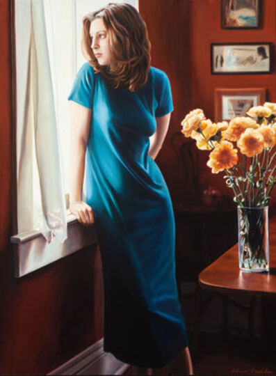 Adrian Deckbar, 'The Window #11 (Blue Dress)', 2001