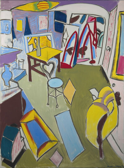Jason Berger, 'The Living Room, Brookline', 1990