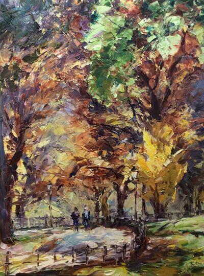 Lyudmila Agrich, 'Autumn in Central Park', 2019