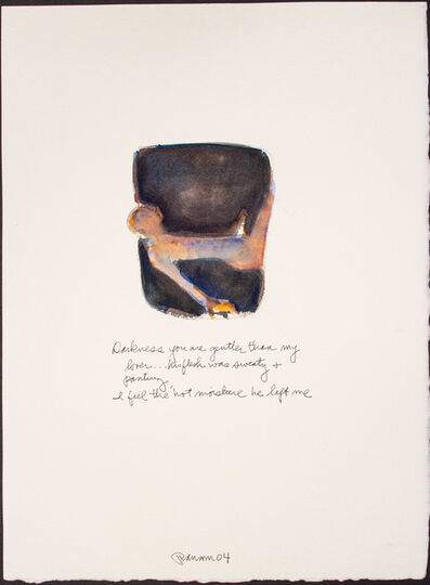 John Ransom Phillips, 'Darkness you are gentler...', 2004