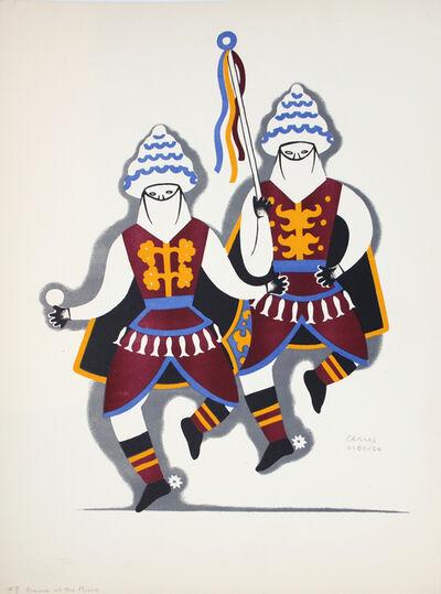 Carlos Merida, 'Dance of the Moors', 1930-1937