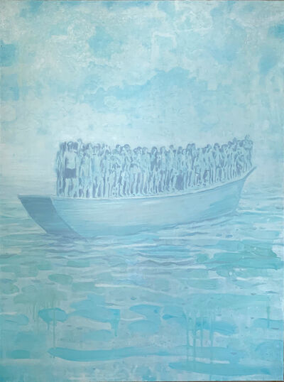 Christian Vincent, 'Blue Boat', 2019