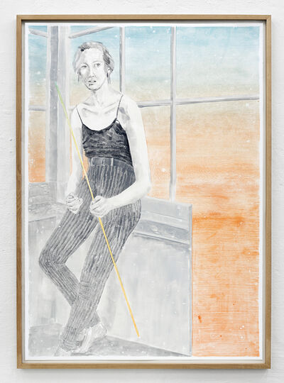 Marion Fink, 'BEHIND HER VAIN EMPTINESS ROSE THE IMAGE OF A WEIGHTLESSLY ARCHING SKY', 2017