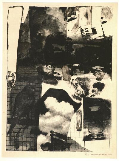 Robert Rauschenberg, 'Rival', 1963