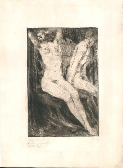 Walter Richard Rehn, 'Mein Weg mit dem Weib, plate 3', 1919