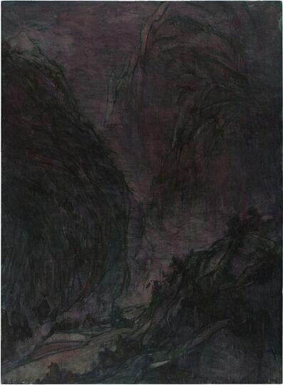 Wang Yabin, 'Autumn Mountain at Night', 2016