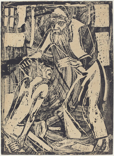 Christian Rohlfs, 'Return of the Prodigal Son', 1916