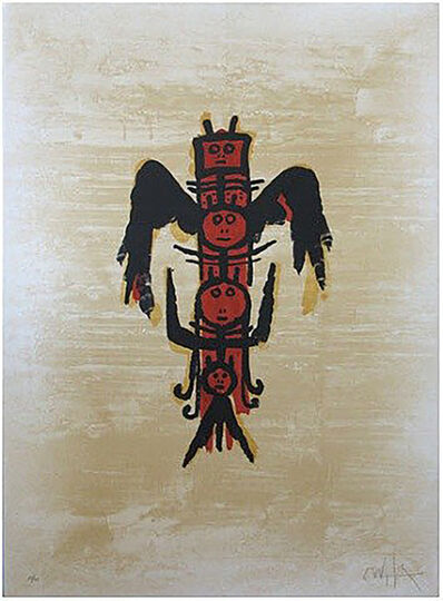 Wifredo Lam, 'El Último Viaje Del Buque Fantasma 2', 1976