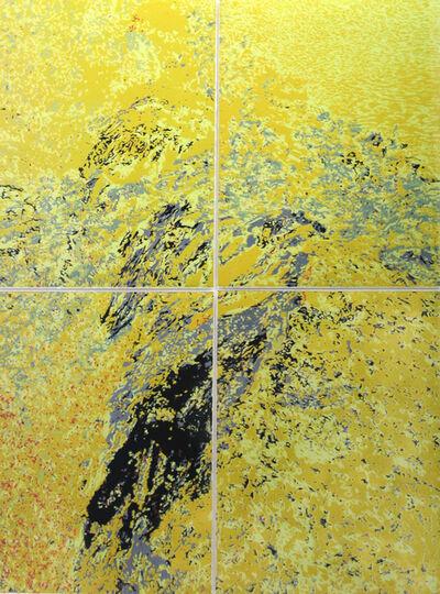 Karen Klee-Atlin, 'Granite Spit - Yellow', 2019