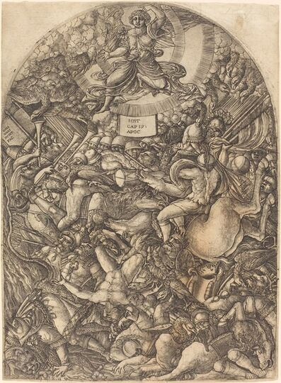 Jean Duvet, 'The Angel in the Sun Calling the Birds of Prey', 1546/1556