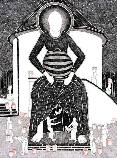 Moussa Kone, 'Ancestors', 2020