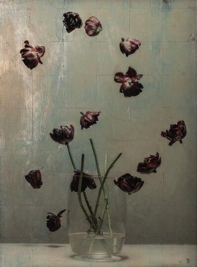 Titus Brein, 'Future of Still Life Tulips II '