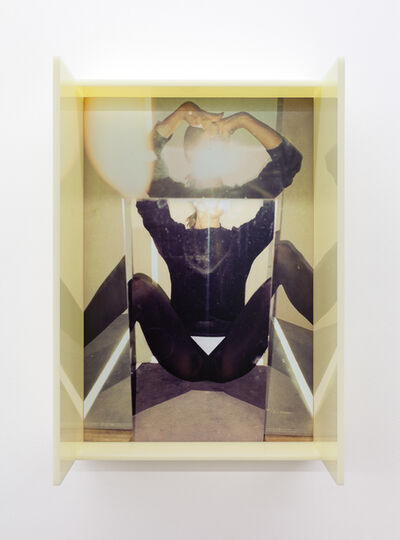 B. Ingrid Olson, 'Spider, splayed binder', 2019