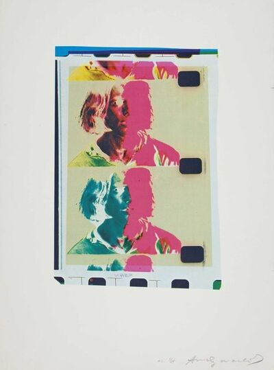 Andy Warhol, 'Eric Emerson (Chelsea Girls)', 1982